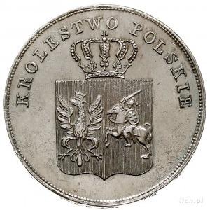 5 złotych 1831, Warszawa, Plage 272, wyczyszczone, ale ...