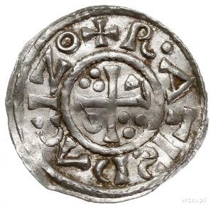 Henryk II 1002-1024, denar 1009-1024, Ratyzbona, Aw: Po...