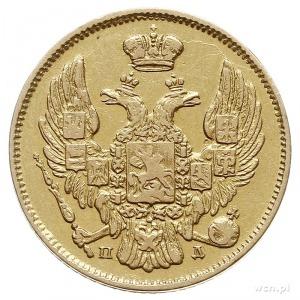 3 ruble = 20 złotych 1834, Petersburg, złoto 3.89 g, Pl...