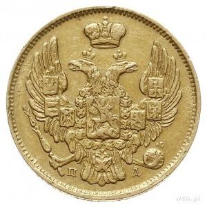 3 ruble = 20 złotych 1834, Petersburg, złoto 3.91 g, Pl...