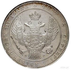1 1/2 rubla = 10 złotych 1835, Petersburg, Plage 323 -p...