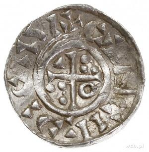Konrad II 1025-1027, denar 1025-1027, Ratyzbona, Aw: Po...