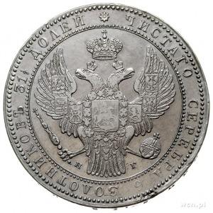 1 1/2 rubla = 10 złotych 1836, Petersburg, Plage 327 -p...