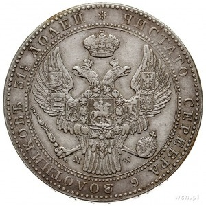 1 1/2 rubla = 10 złotych 1840, Warszawa, Plage 339, Bit...
