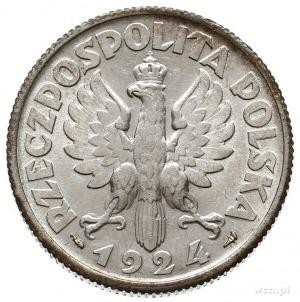 2 złote 1924, Paryż, róg i pochodnia, Parchimowicz 109....