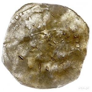 Trewir, Henryk II 1002-1024, denar, Aw: Głowa cesarza w...