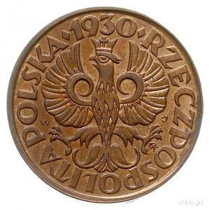 2 grosze 1930, Warszawa, Parchimowicz 102.e, piękne, w ...