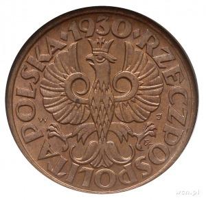 1 grosz 1930, Warszawa, Parchimowicz 101.e, moneta w pu...