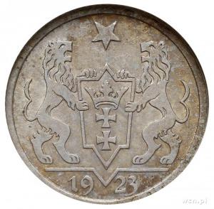 1 gulden 1923, Utrecht, Koga, Parchimowicz 61.a, moneta...