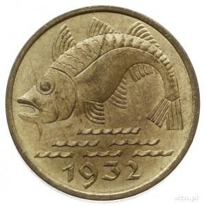 10 fenigów 1932, Berlin, Parchimowicz 58, wyśmienite