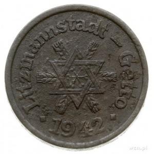 10 fenigów 1942, Łódź, magnez, Parchimowicz P.25, monet...