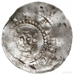 Wormacja- biskupstwo, bp Arnold 1044-1065, denar, Aw: P...