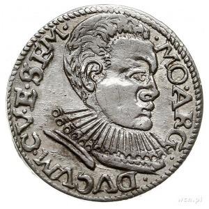 trojak 1596, Mitawa, Iger KuF.96.3.c (R4), Gerbaszewski...