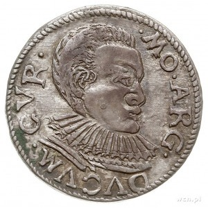 trojak 1596, Mitawa, Iger KuF.96.1.a (R4), Gerbaszewski...