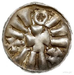 Otto I - Otto III 955-1002, jednostronny denar krzyżowy...