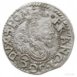 grosz 1616, Koszalin, Aw: Popiersie księcia w prawo, po...