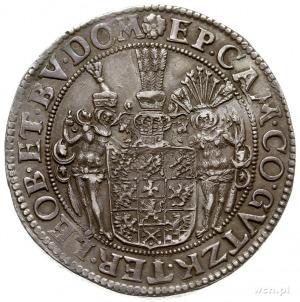 talar 1633, Szczecin, Aw: Popiersie i napis wokoło, Rw:...