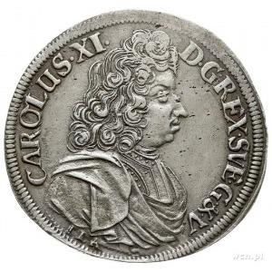2/3 talara (gulden) 1689, Szczecin, pod popiersiem lite...