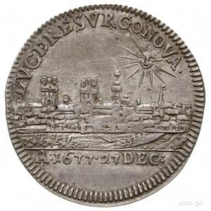Fryderyk Wilhelm I 1640-1688, ćwierćtalar (odbitka w sr...