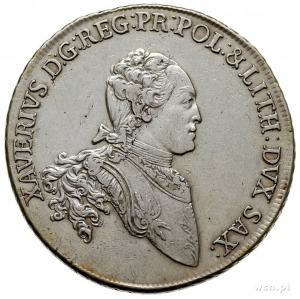 Ksawery 1764-1768 - jako administrator, talar 1765, Dre...