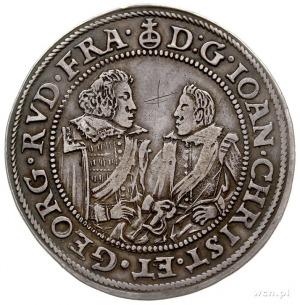 Jan Krystian i Jerzy Rudolf 1602-1621, talar 1609, Złot...
