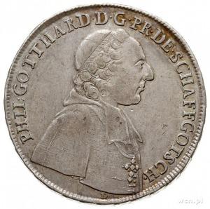 Filip Gotthard Schaffgotsch 1747-1795, półtalar 1754, N...