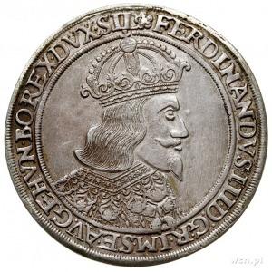 talar 1648/3, Wrocław, Aw: Popiersie cesarza i napis wo...