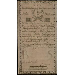 5 złotych polskich 8.06.1794, seria N.A.2, numeracja 40...