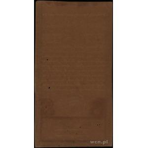 50 złotych 8.06.1794, seria D, numeracja 33258, znak wo...