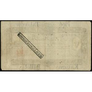 5 talarów 1.12.1810, podpis komisarza Józef Jaraczewski...