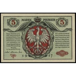 5 marek polskich 9.12.1916, Generał, w klauzuli Biletów...