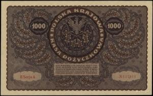 1.000 marek polskich 23.08.1919, seria II-A, numeracja ...