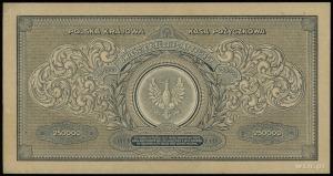 250.000 marek polskich 25.04.1923, seria Y, numeracja 5...