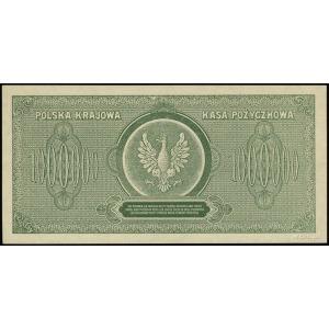 1.000.000 marek polskich 30.08.1923, seria D, numeracja...
