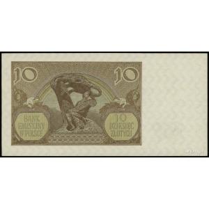 10 złotych 1.03.1940, seria A, numeracja 7295217, Lucow...