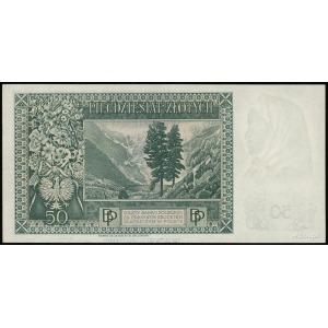 50 złotych 15.08.1939, seria D, numeracja 379099, Lucow...
