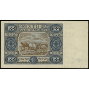 100 złotych 1.07.1948 (według projektu emisji z 15.07.1...