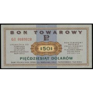 Bank Polska Kasa Opieki S.A., bon towarowy na 50 dolaró...