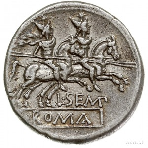 L. Sempronius Pitio 148 pne, denar 148 pne, Rzym, Aw: G...