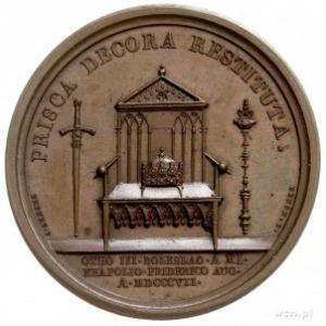 utworzenie Księstwa Warszawskiego, medal autorstwa Andr...