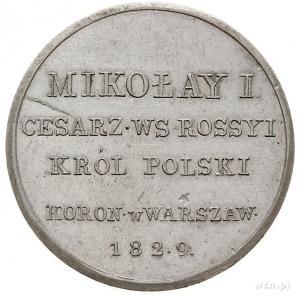medal koronacyjny Mikołaja I z 1829 r., zaprojektowany ...