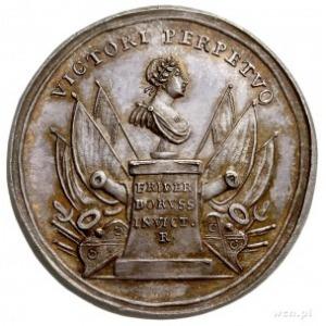 Fryderyk II Wielki, medal autorstwa Kittla wybity z oka...