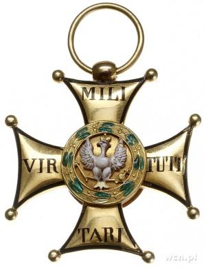 Krzyż Złoty Orderu Virtuti Militari IV klasa, 1831, wyk...