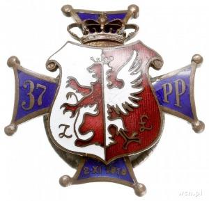 odznaka pamiątkowa 37 Łęczyckiego Pułku Piechoty -Kutno...