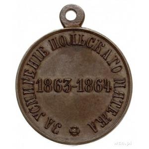 medal Za Stłumienie Powstania Styczniowego 1863-1864, b...