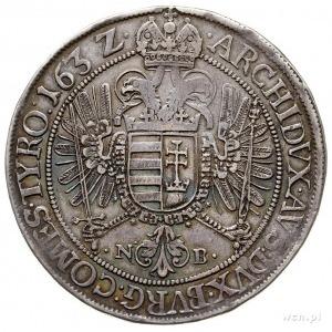 Ferdynand II 1619-1637, talar 1632 NB, Nagybánya, srebr...