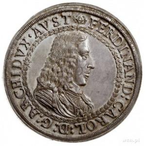 arcyksiążę Ferdynand Karol 1632-1662, dwutalar bez daty...