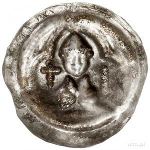 Otto Bogaty 1156-1190, brakteat; Popiersie księcia w pł...