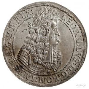 Leopold I 1657-1705, talar 1701, Hall, srebro 28.85 g, ...