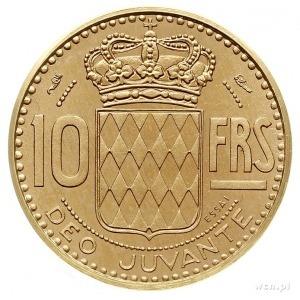 Rainier III 1949-2005, 10 franków 1950, Paryż, piefort,...